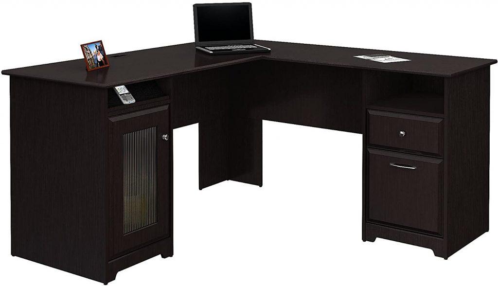 Computer Desk in Espresso Oak