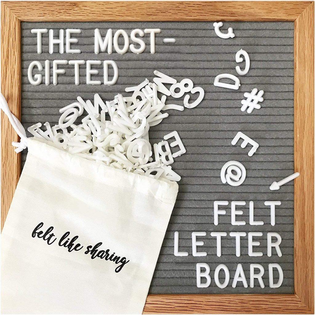 Changeable Letter Boards