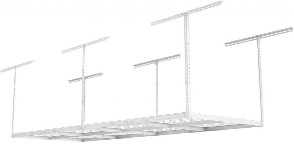 Ceiling mounted shelf