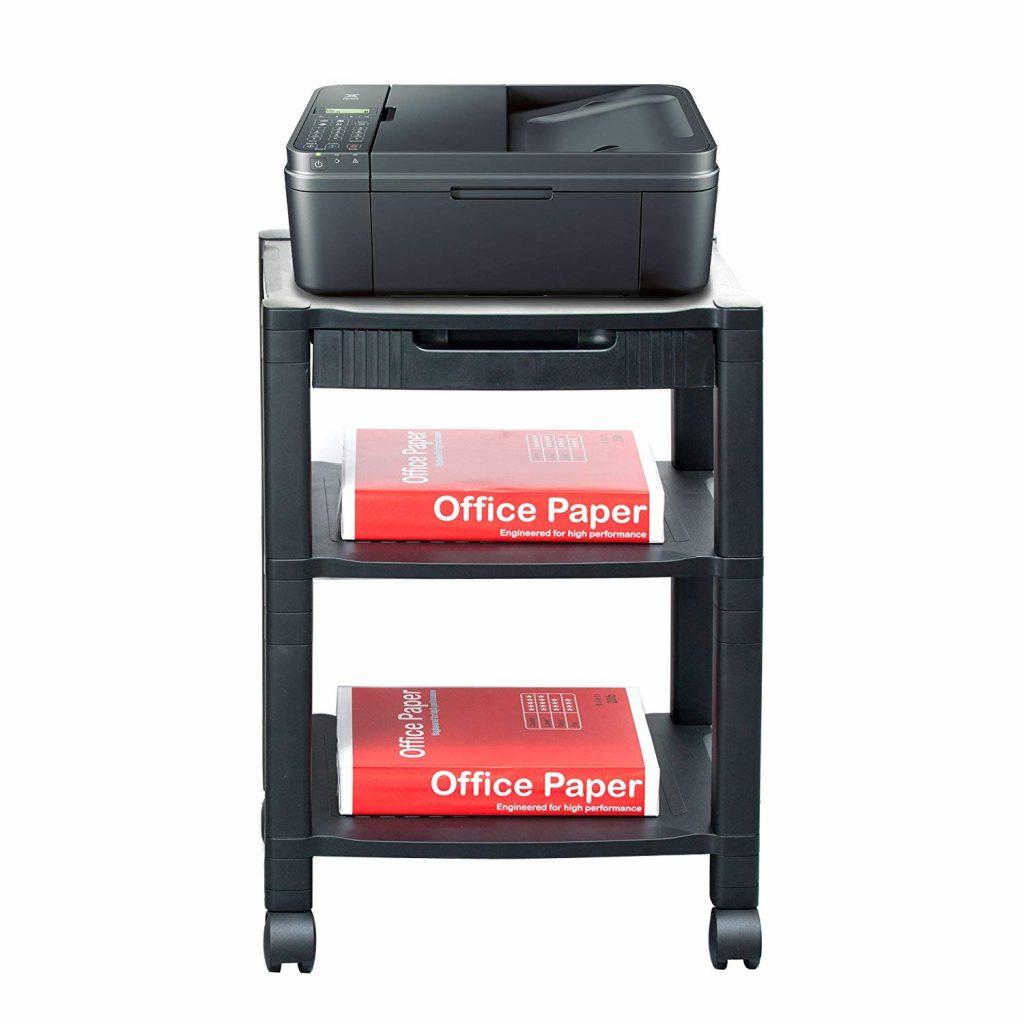 3-Shelf Printer Cart By Mind Reader