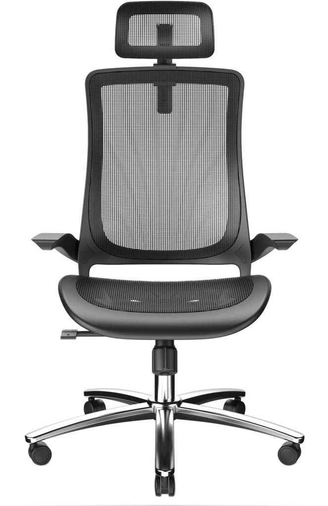 Ergonomic Office Chair with Breathable Mesh Seat