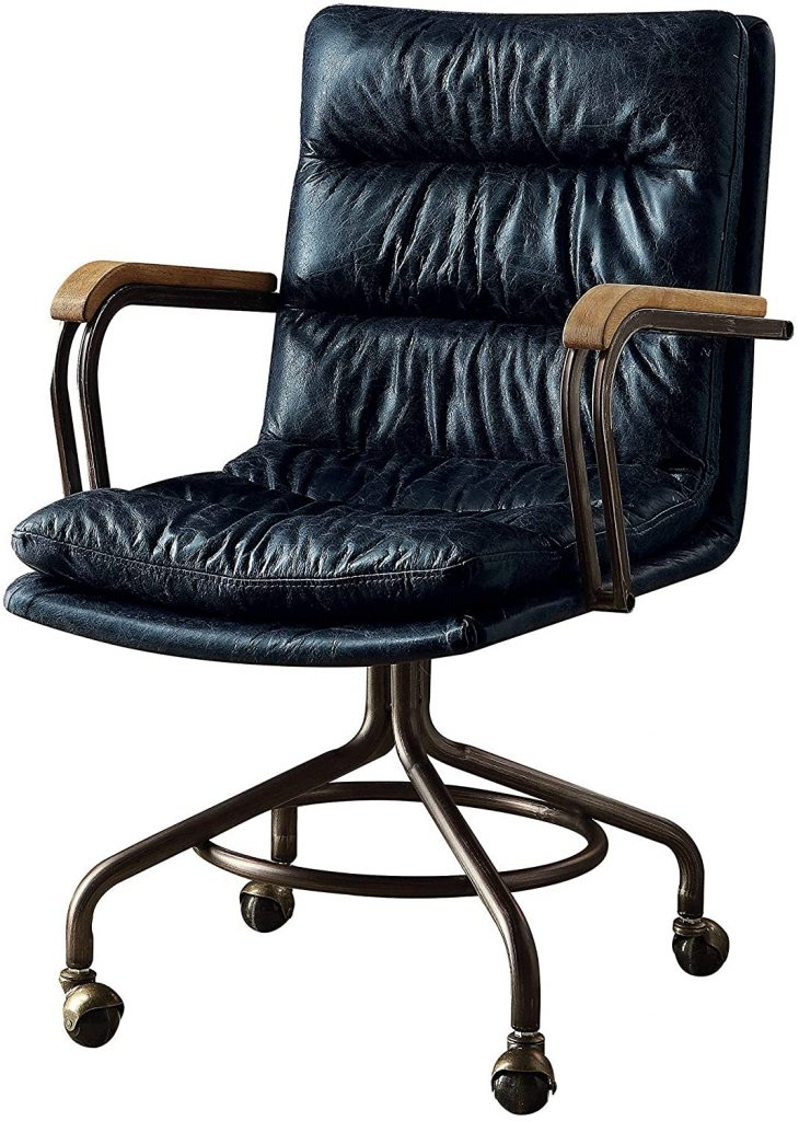 HomeRoots Leather Office Chair