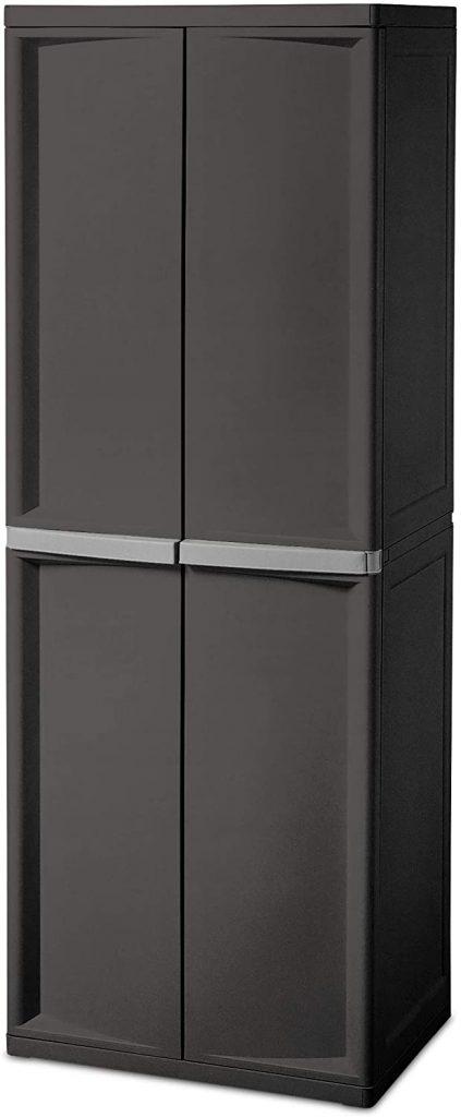 4-shelf cabinet by Sterilite