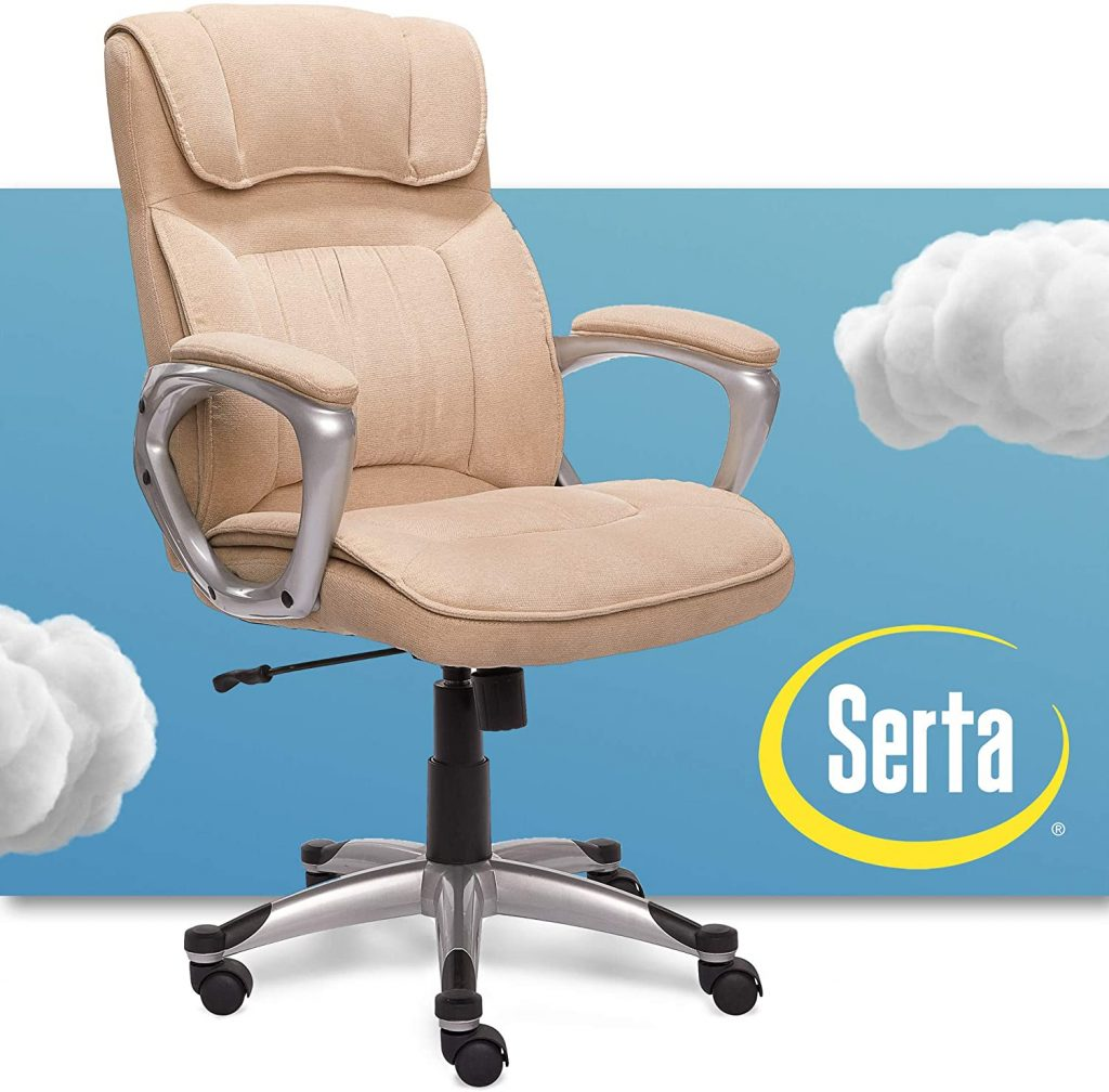 Serta Upholstered Contoured Chair