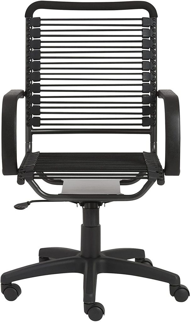 Eurø Style Bungie Adjustable Office Chair with Arms