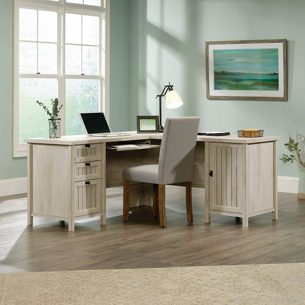 Sauder Costa L-Shaped Desk