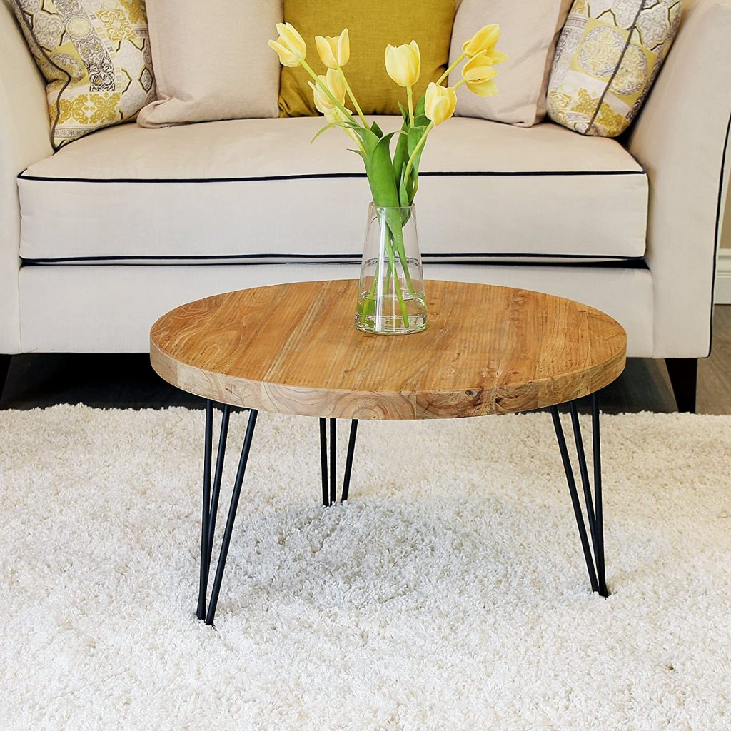 WELLAND Wooden Coffee Table