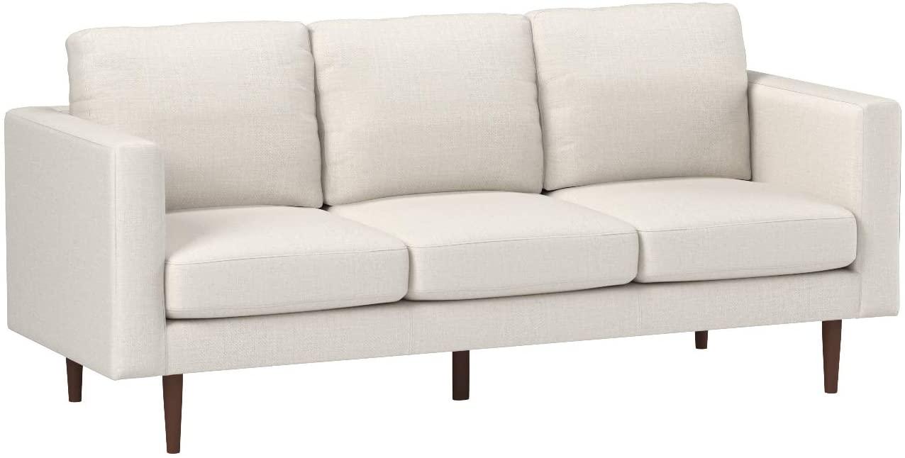 Black Leather Convertible Sofa