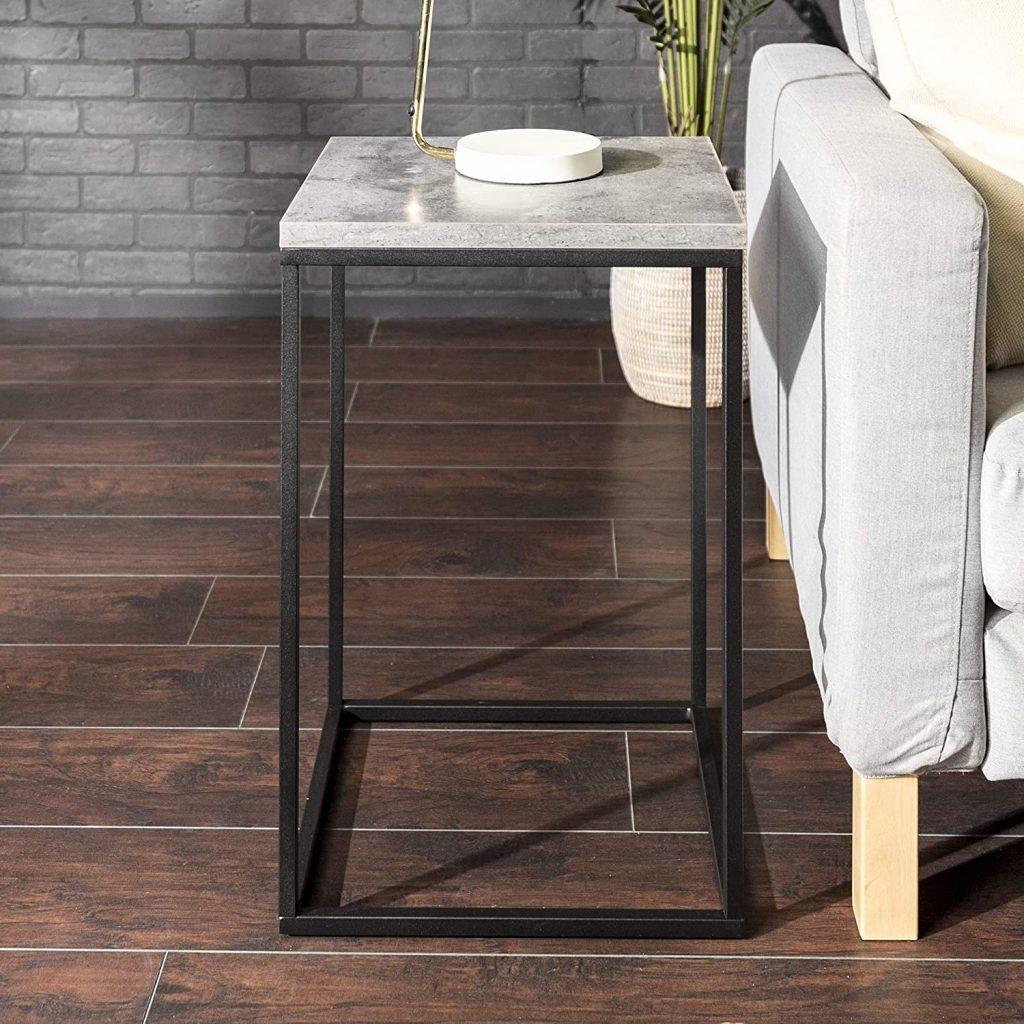 Walker Edison Furniture Company Modern End Table