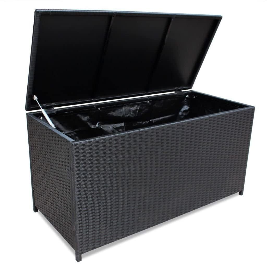Outdoor Storage Poly Rattan Entryway Chest
