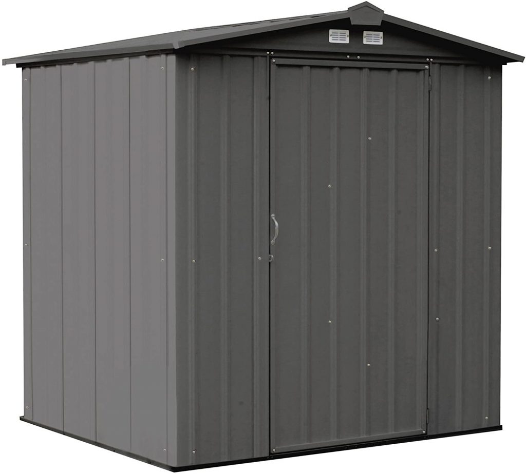 Arrow 6' x 5' EZEE Steel Storage Shed