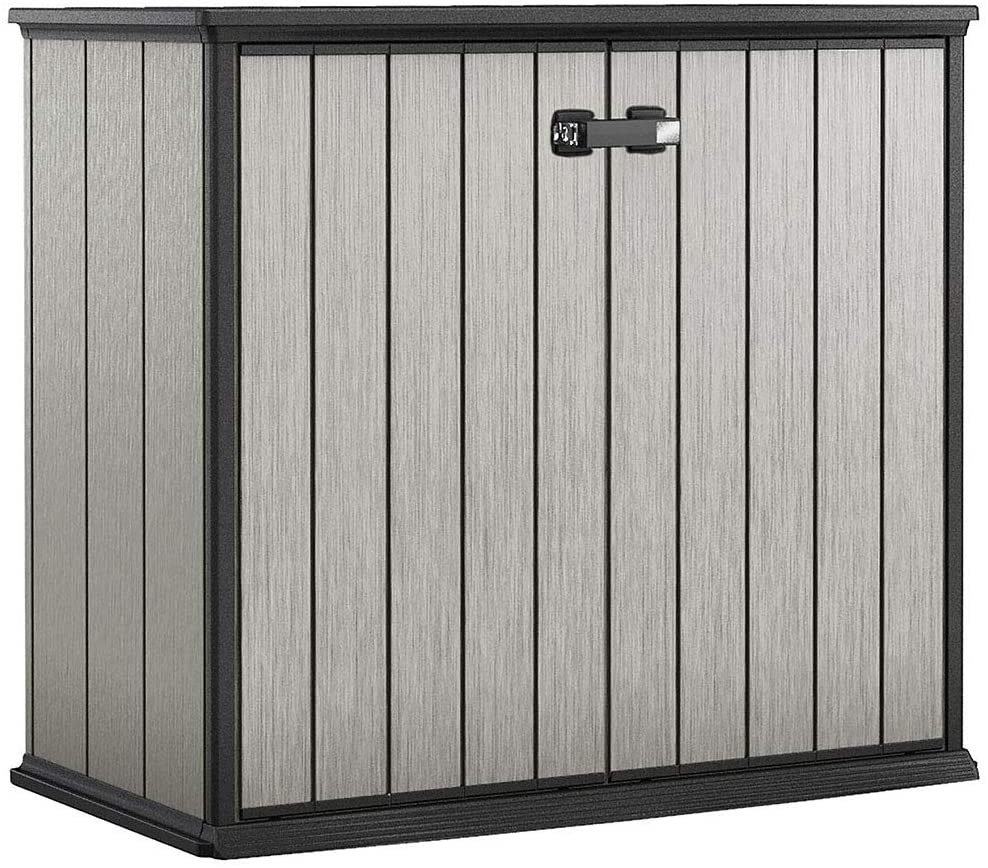Keter Patio Store 4.6 x 2.5 Ft Outdoor Storage Shed