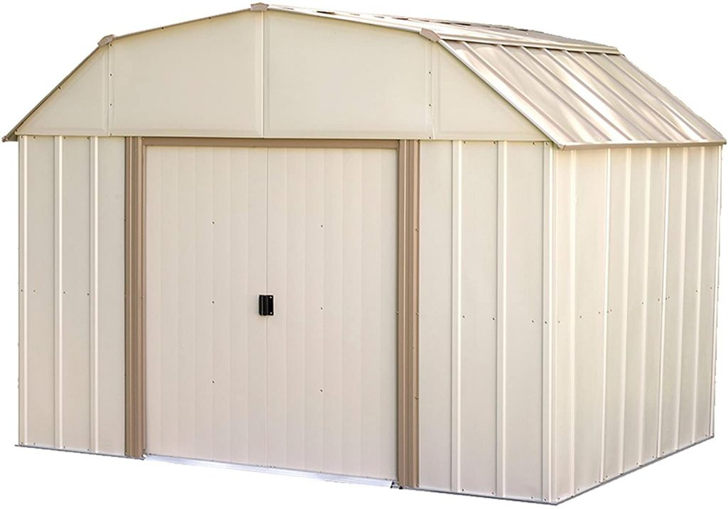 Arrow LX108 8-Feet Steel Storage Shed