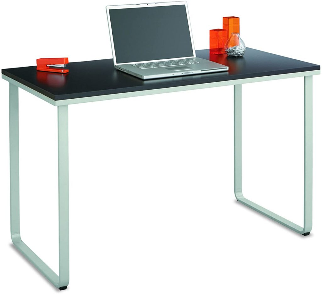 Safco Products, Black/Silver Home Office Table