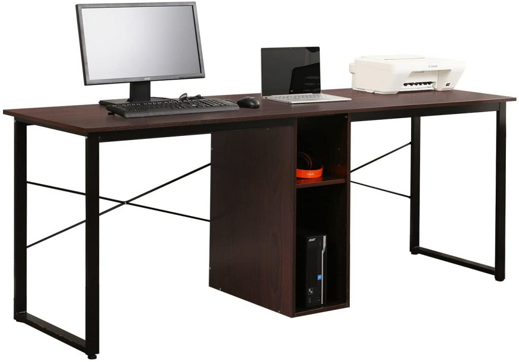 Soges 2-Person Home Office Desk