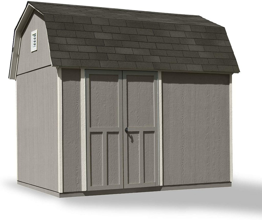 Handy Home Products Briarwood 8x10 Storage Shed