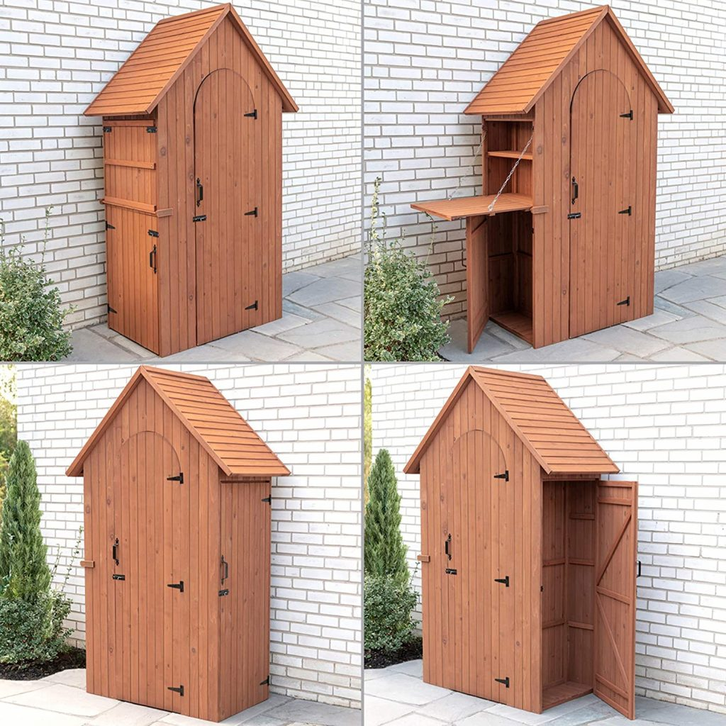Leisure Season Multi Compartment Storage Sheds