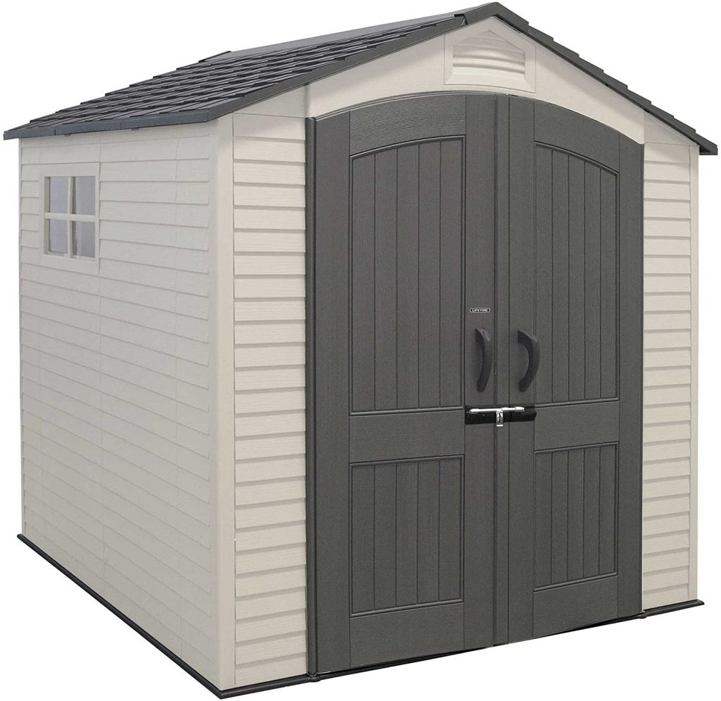LIFETIME 7' X 7' Outdoor Storage Shed