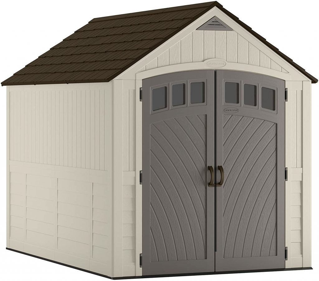 Suncast Covington 481 cu. Ft. Resin Storage Shed