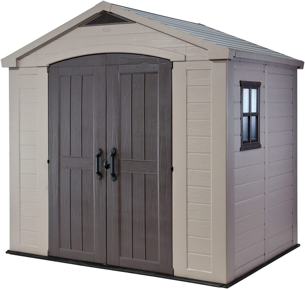 Keter Factor 8x6 Large Resin Outdoor Shed
