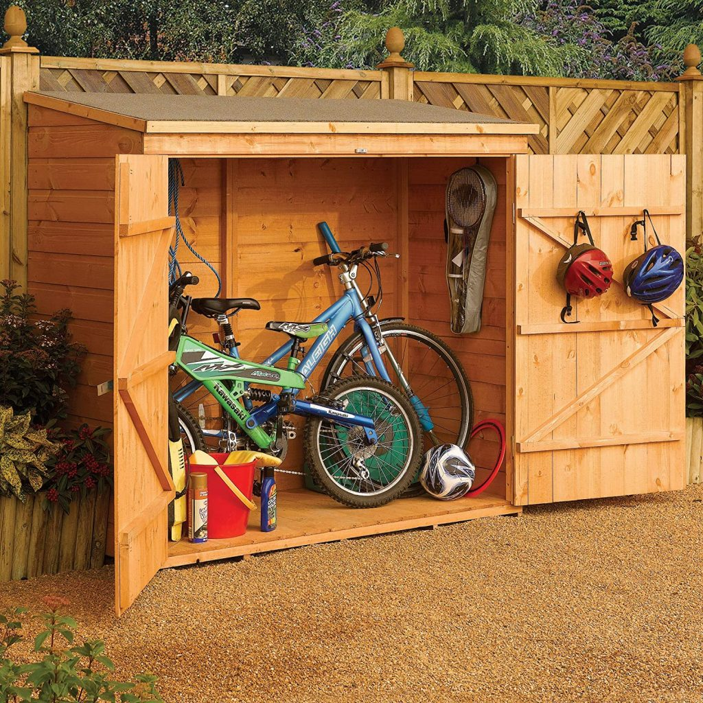 Bosmere Wooden Outdoor Lockable Storage Unit
