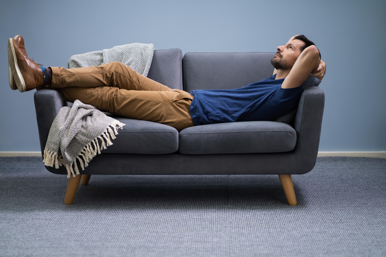 Brown Leather Sleeper Sofa