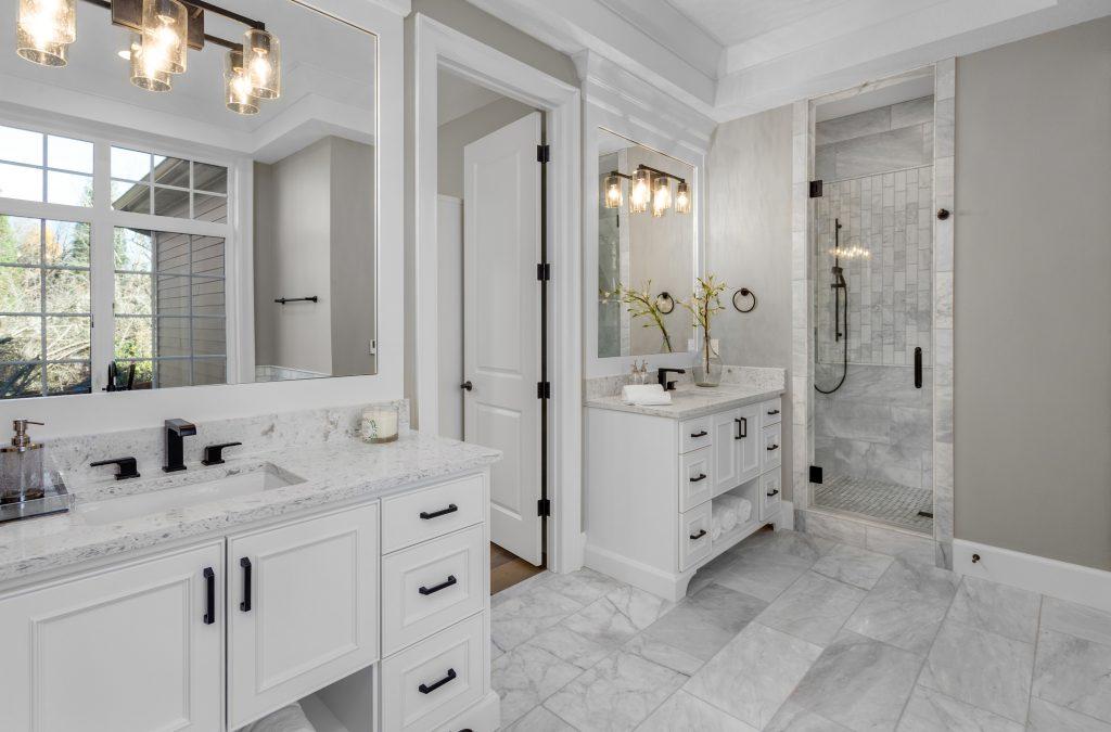 Incorporate Pink Into Bathroom Decor
