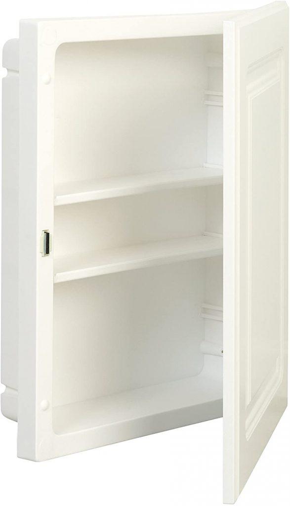 American Pride White Plastic Medicine Cabinet