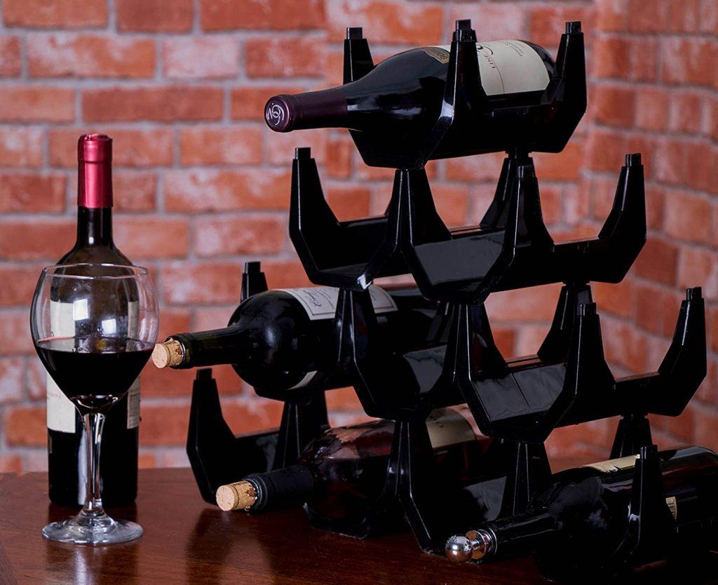 Clever Chef Premium Stackable Wine Rack