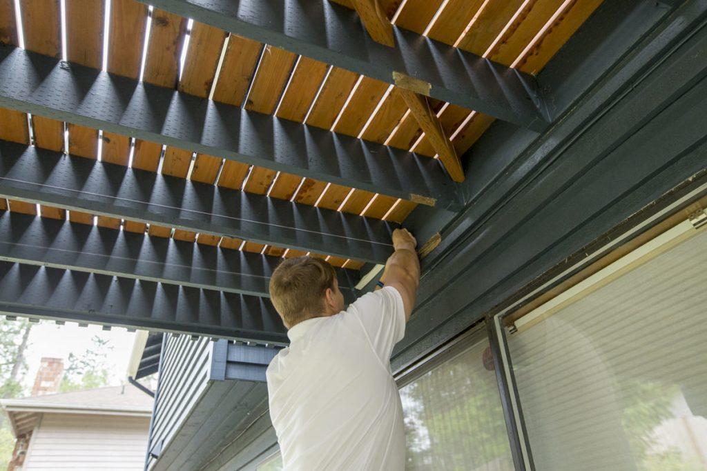 Under Deck Ceiling