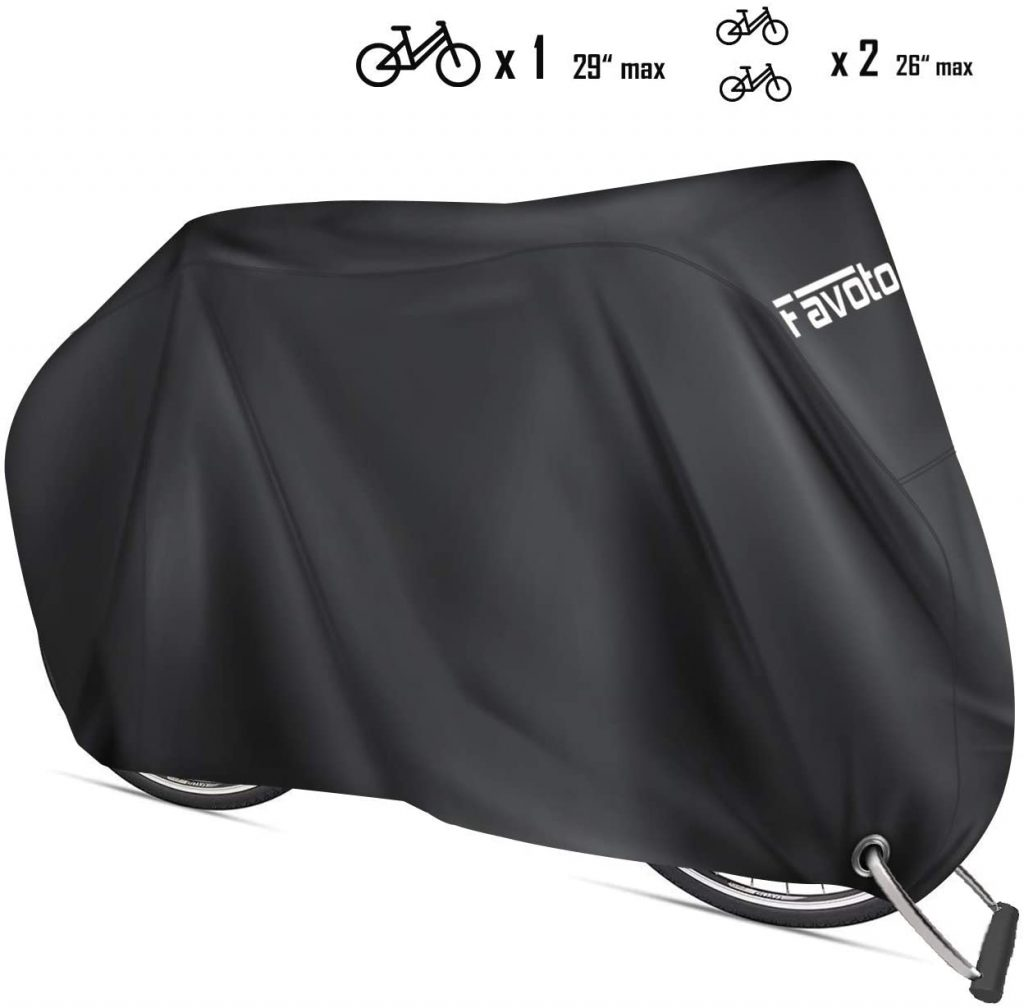 Favoto Bike Cover Waterproof Outdoor Bicycle Cover