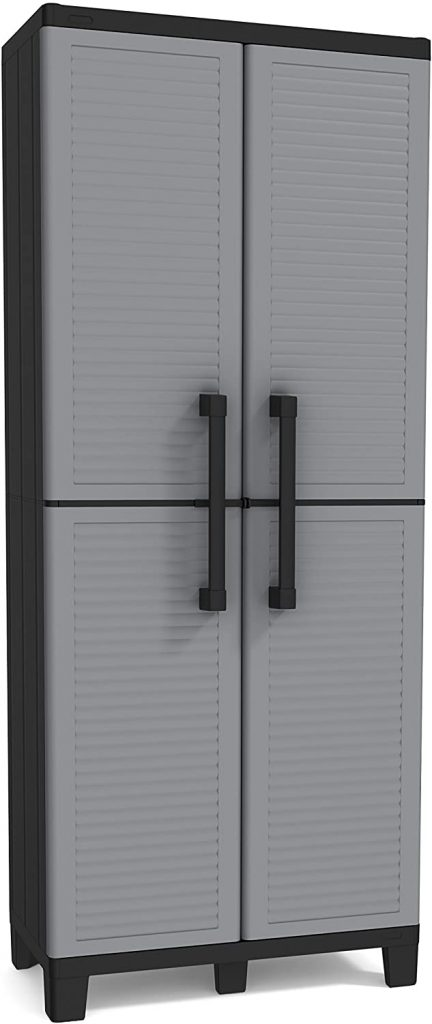 Garage Storage Cabinet with Doors and Shelves by Keter