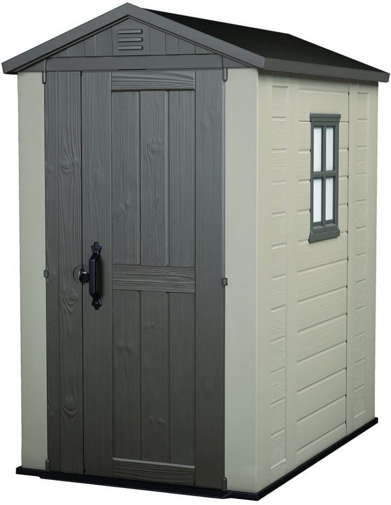 Keter Factor 4×6 Outdoor Storage Shed