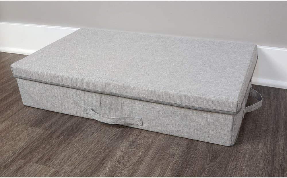 Primary Designs Collapsible Under Bed Storage Bin