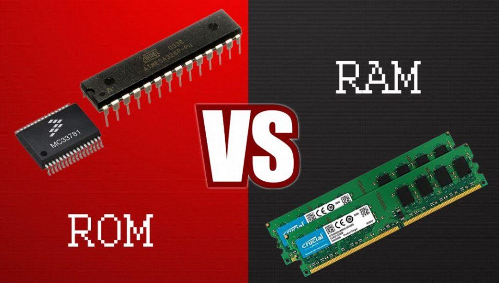 ROM vs RAM