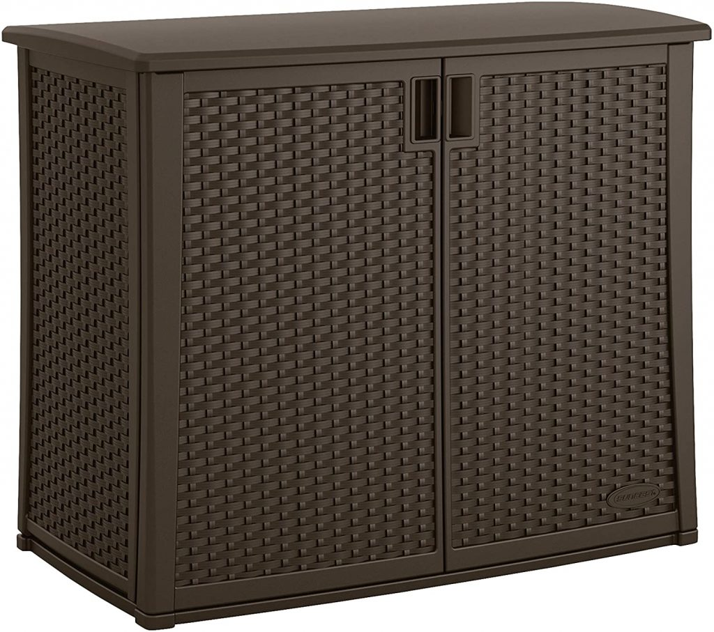 Suncast Elements Outdoor Wide Cabinet