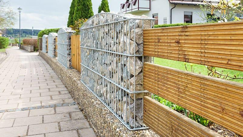 Tidyard Gabion Wall