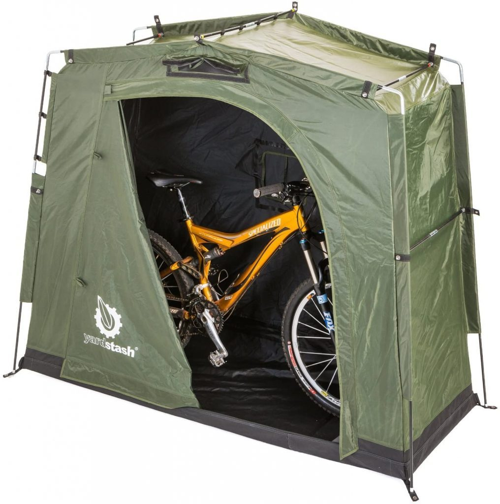 bicycle tent storage