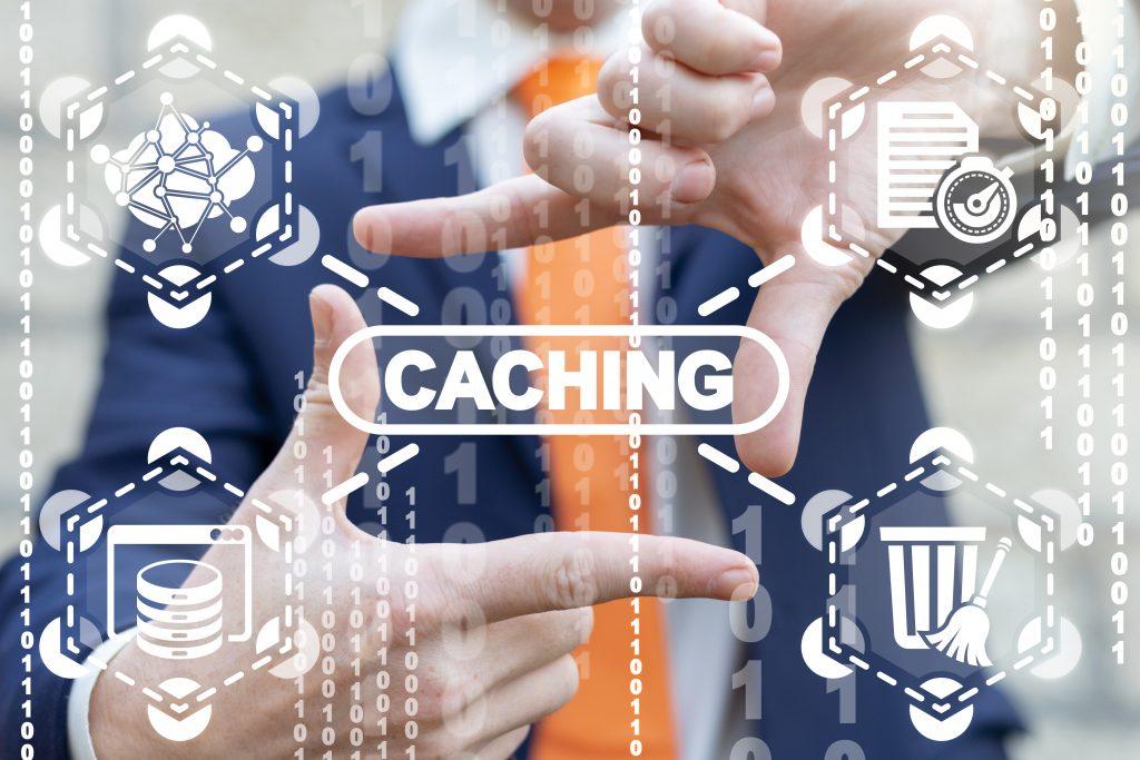 Caching Memory Modern Communication Digital Web Technology.