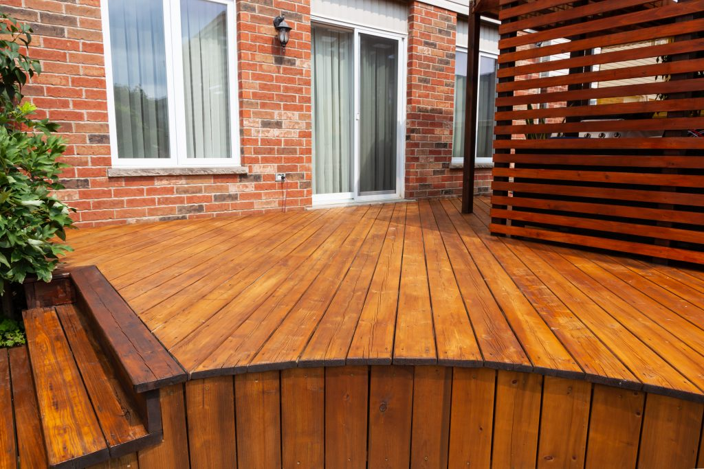 deck of a house