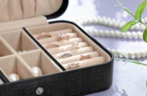 travel jewelry storage box