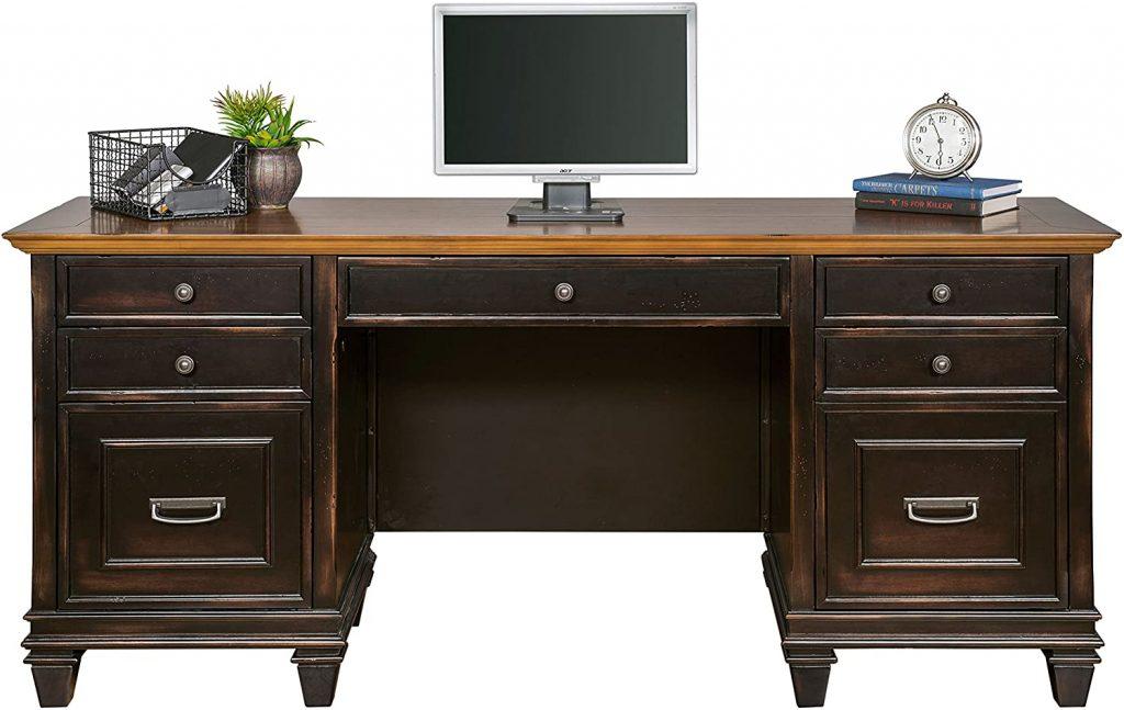 Martin Furniture Hartford Credenza, Brown