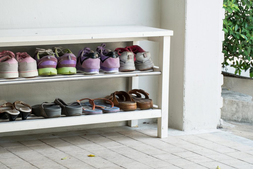 Perfect Outdoor Shoe Storage