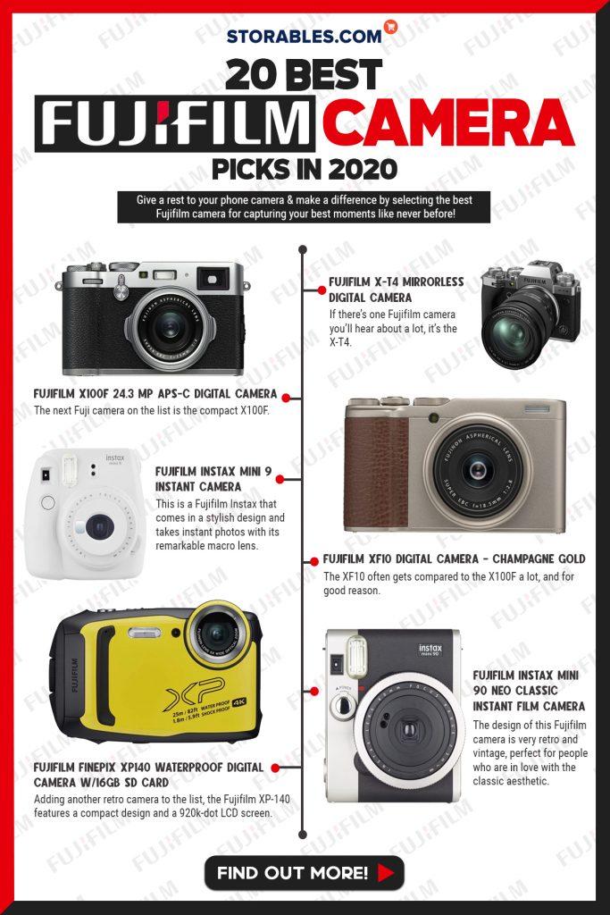 20 Best Fujifilm Camera Picks In 2020 - Infographics