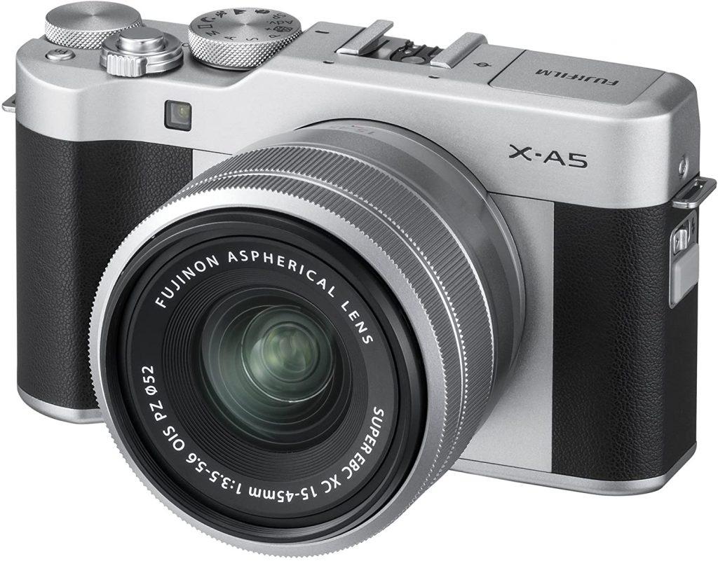 Fujifilm X-A5 Mirrorless Digital Camera w/XC15-45mmF3.5-5.6 OIS PZ Lens