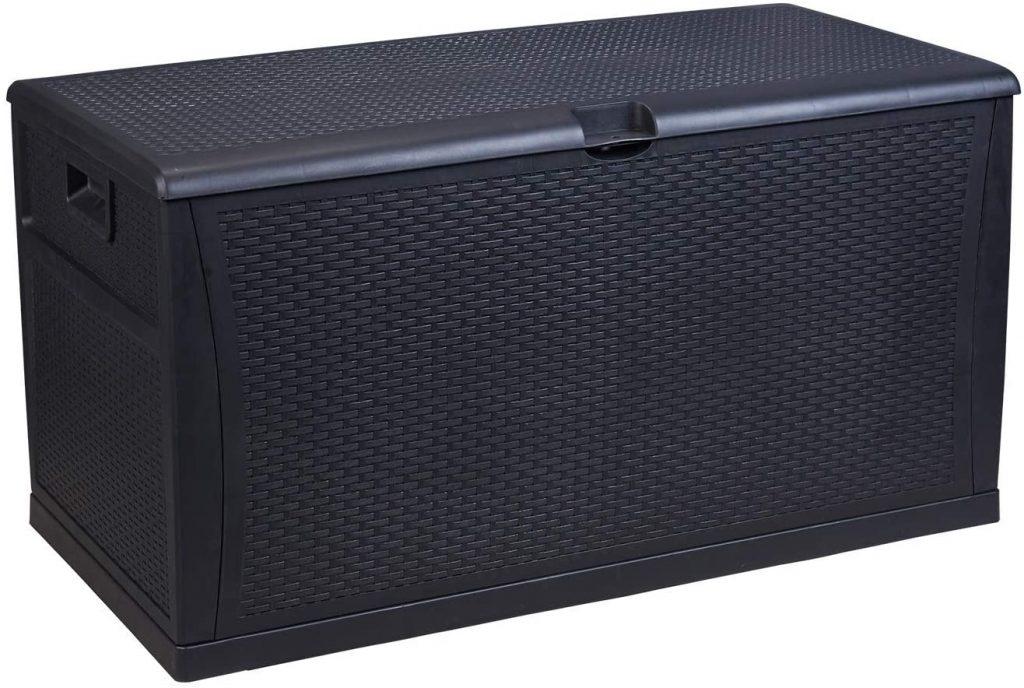 Covered Deck Storage Box, Under Deck Storage, Deck Storage Ideas, Deck Storage Ideas