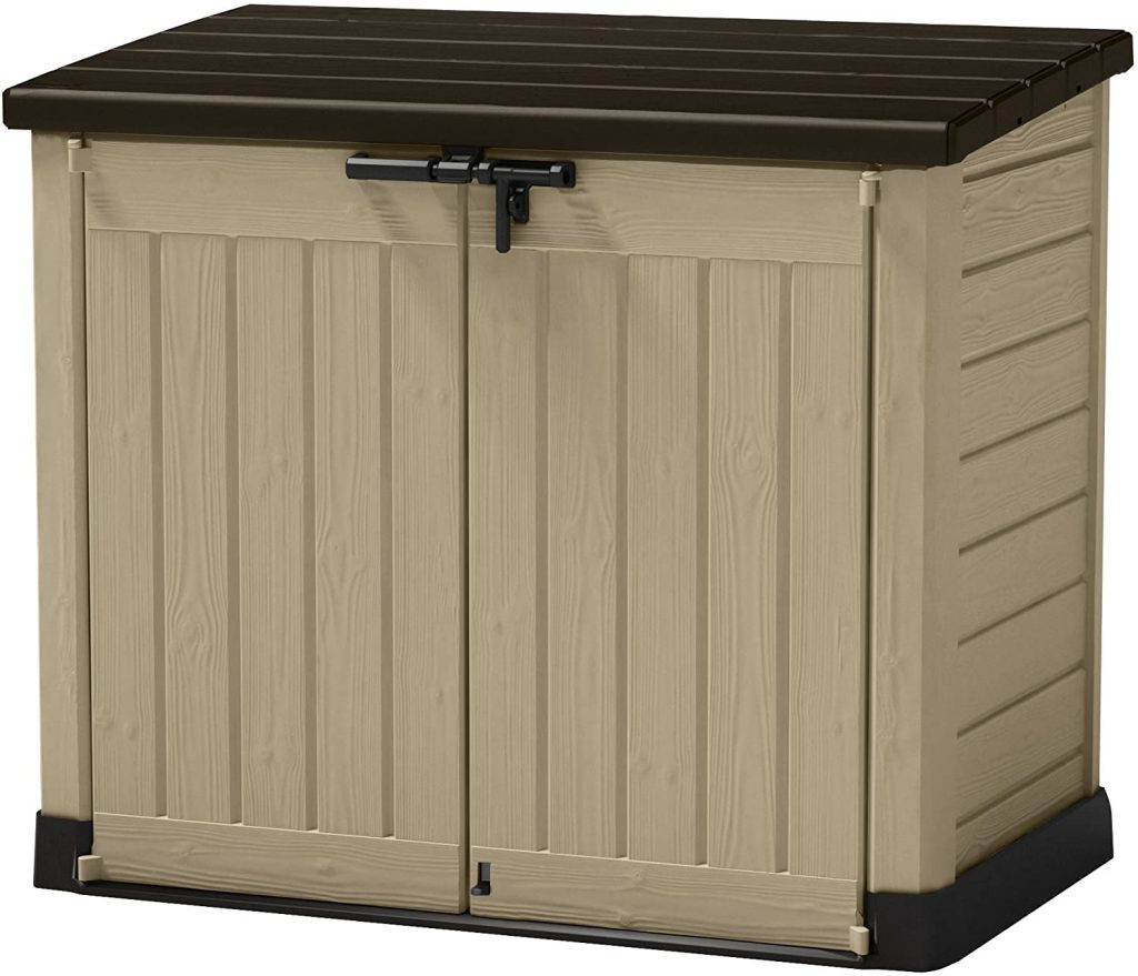 Keter 226814 Outdoor Storage Box, Waterproof Underdeck Storage Box