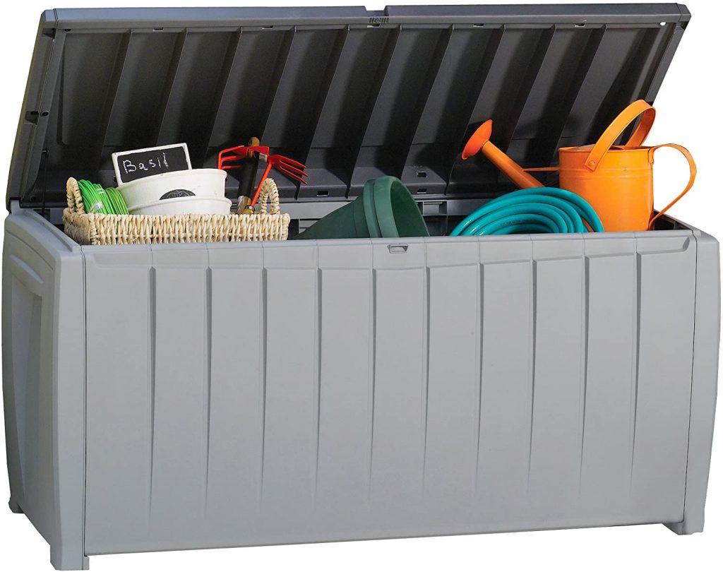 Covered Deck Ideas, Under Deck Storage, Under Deck Storage Box