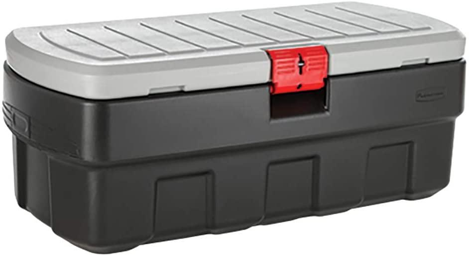 Under Deck Storage, Covered Deck Ideas, Waterproof Underdeck Storage Box