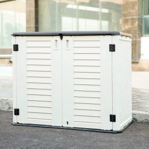 Kinying Horizontal Outdoor Storage Shed for Garden
